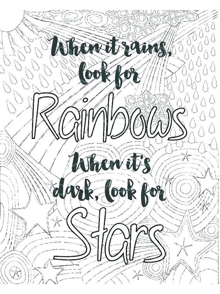 Printable Quote Coloring Pages For Adults The Following Is Our Collection Of Encouraging Q Inspirational Quotes Coloring Quote Coloring Pages Printable Quotes
