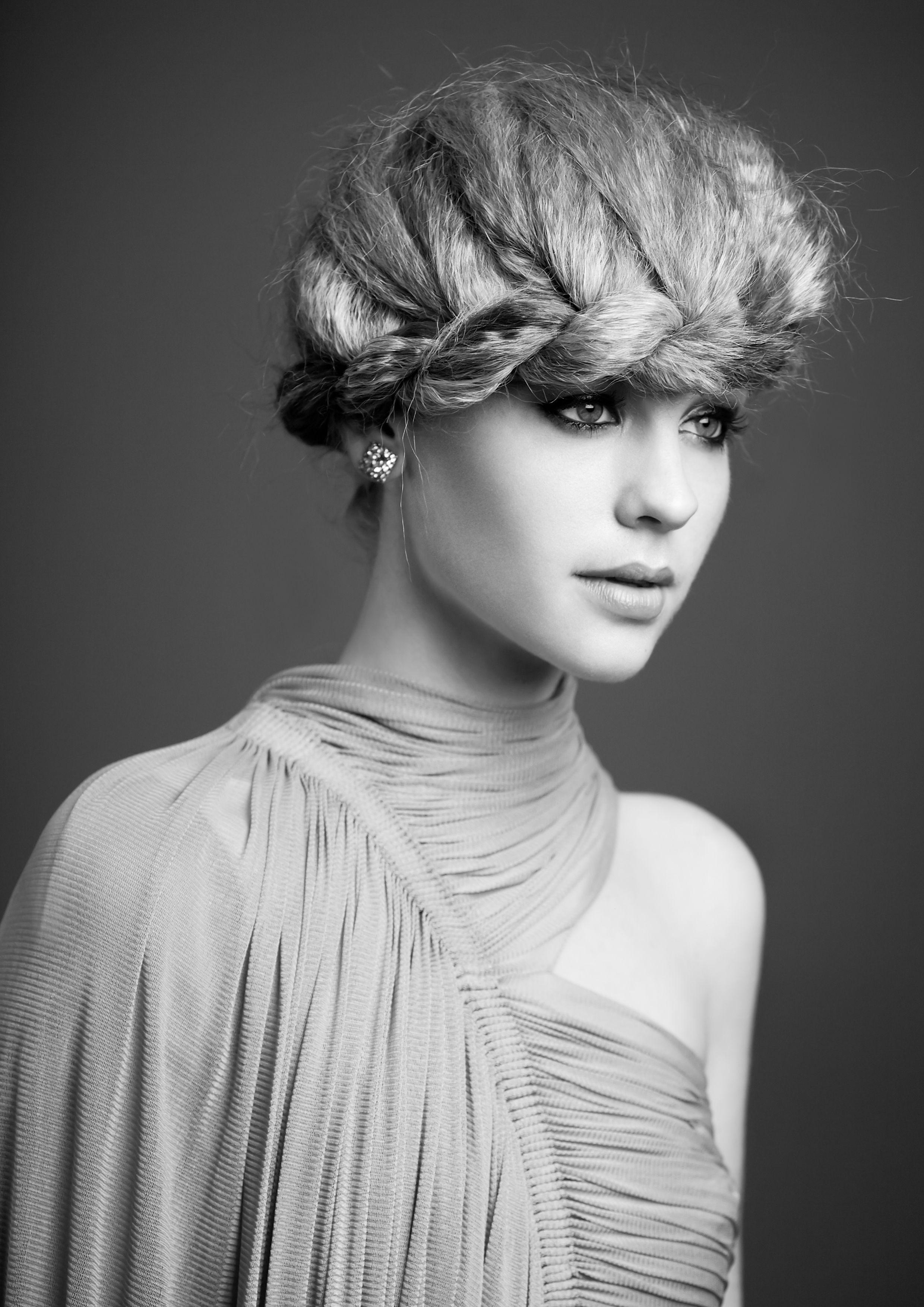 Airbrush Makeup and Hair Melbourne Editorial hair, Twist