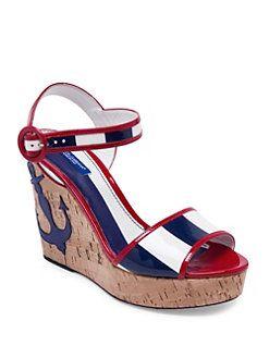 Kork Leather Wedges Spring/summer Dolce & Gabbana PHO7mM8