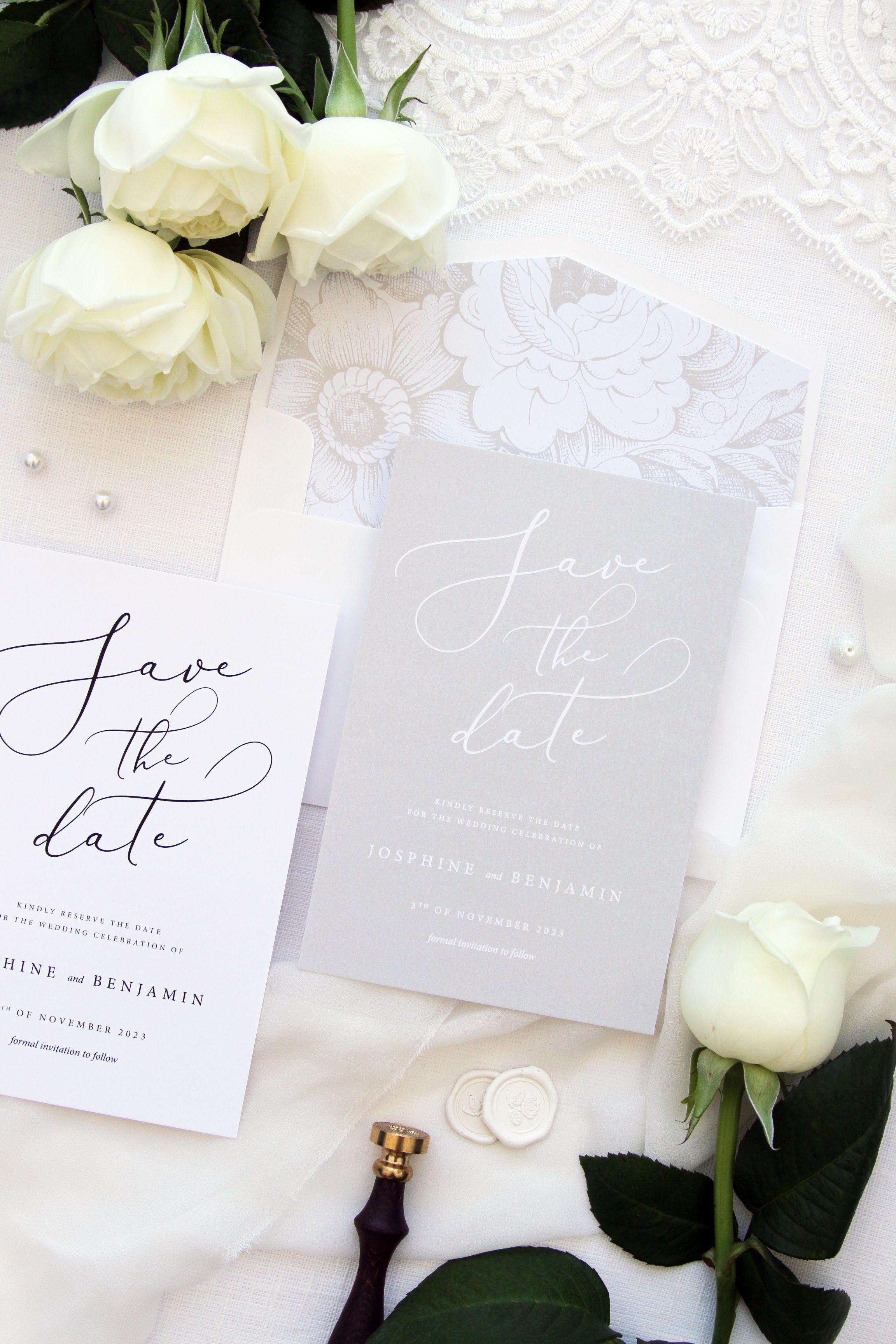 Elegant Wedding Invitation | Stationery | Pinterest | Elegant ...