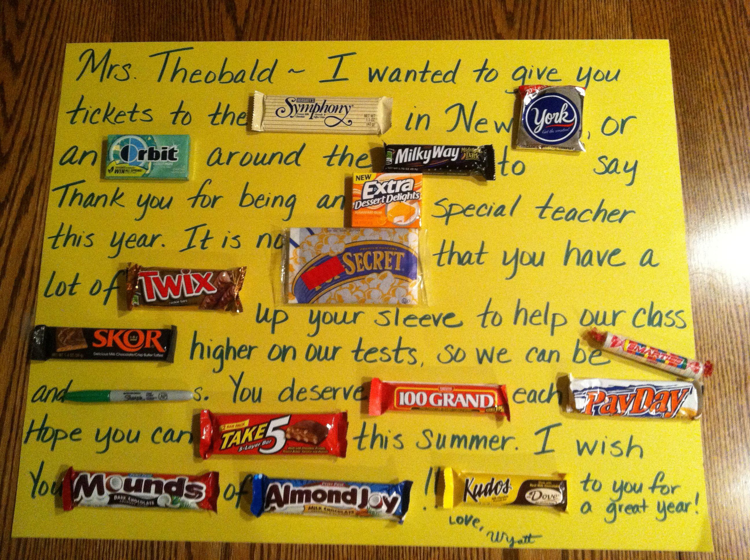 End Of Year Teacher T So Fun