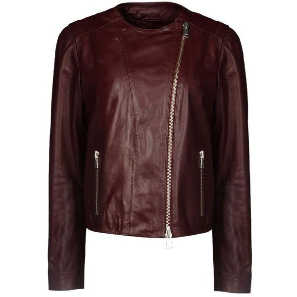 84ea63a185 Alberta Ferretti Leather   Fur Coats   Jackets ( 498) ❤ liked on Polyvore  featuring
