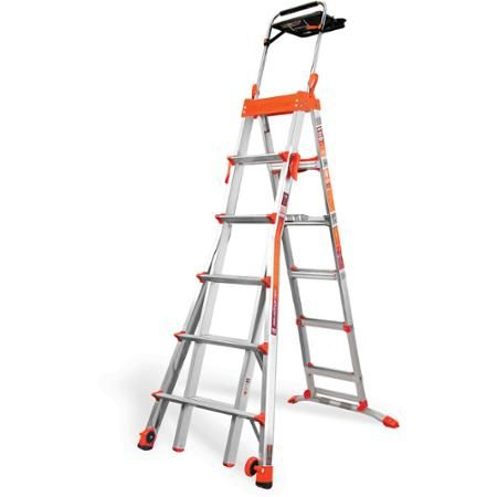 Little Giant Ladder Systems Select Step 6'-10' Adjustable Step Ladder