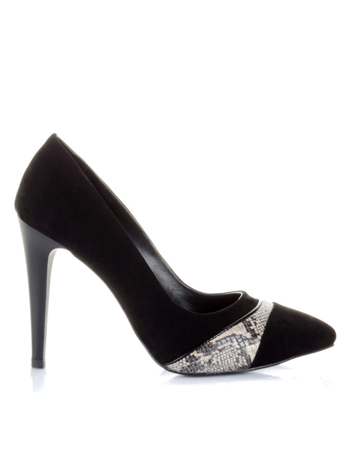 حذاء كعب عالي رسمي بمقدمة رسم جلد الأفعى على موقع سكر Www Sukar Com Heels Shoes Pumps