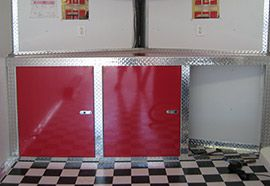 Guide For Building Food Truck Cabinets. Just Use FRP And The Health Dept  Favorite Color