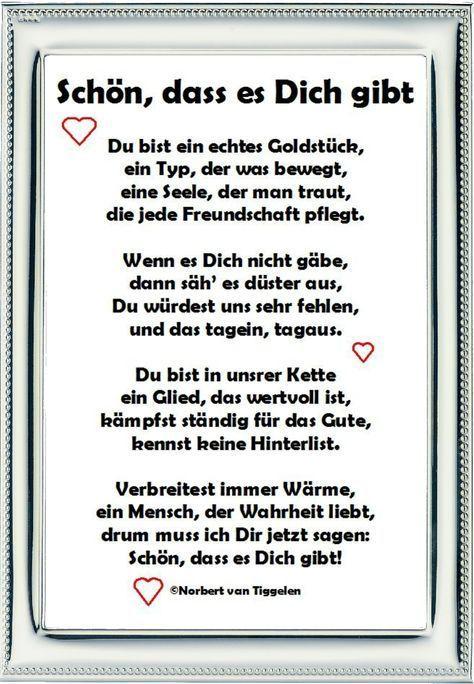 Danke Mein Schatz Daizo Du Bist Der Beste Gedichte Und Spruche