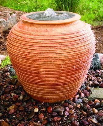 Ceramic Urn Bubbler Decorative Water Fountain Ebay Decorative Water Fountain Water Fountain Garden Yard Ideas
