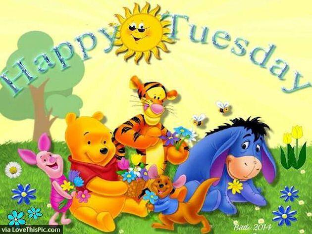 Winnie The Pooh Happy Tuesday Quote Winnie The Pooh Tuesday Tuesday Quotes Happy  Tuesday Tuesday Quote Happy Tuesday Quotes Cute Tuesday Quotes Winnie The  ...