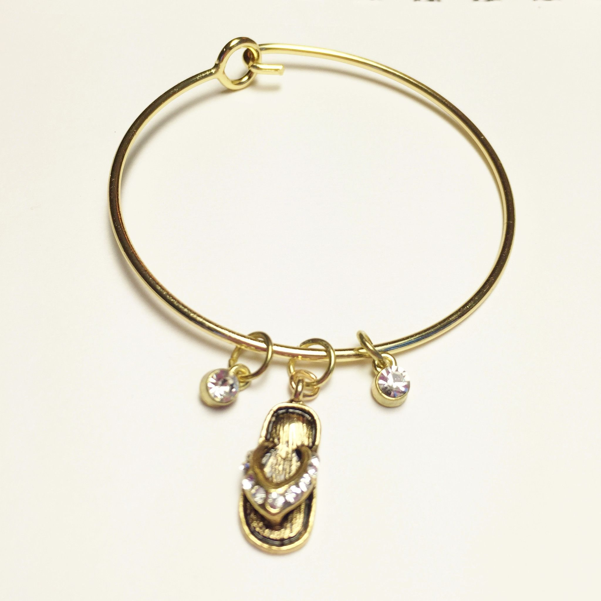 gold flower product lyst bracelets spade metallic york bangle in gallery jewelry bracelet bangles new charm kate
