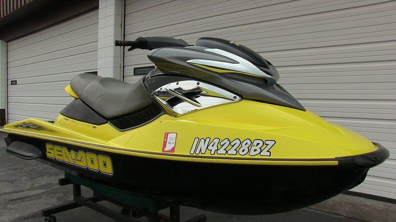 2004 Sea-Doo RXP supercharged 215-HP 4-stroke jet ski   SOLD