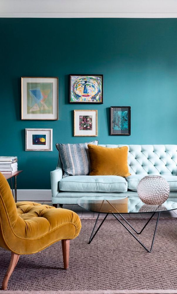 59 Inspirational Modern Living Room Models And Decoration Ideas 2020 Part 7 Yellow Living Room Brown Living Room Decor Living Room Turquoise #turquoise #and #brown #living #room #furniture