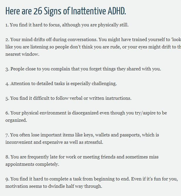 Inattentive ADHD   Untapped Brilliance   Adult ADH