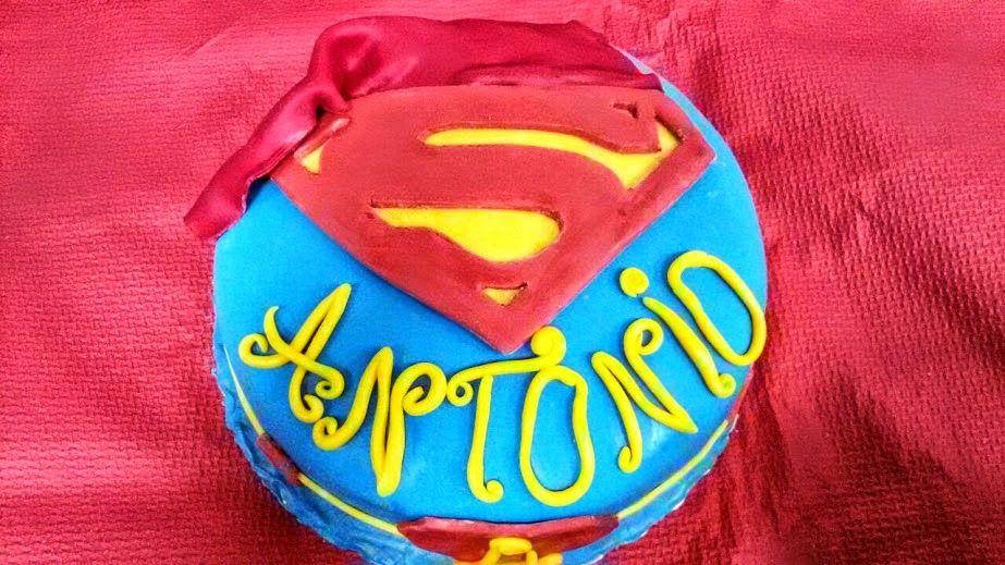 La Riccia Che Pasticcia: TORTA SUPERMAN