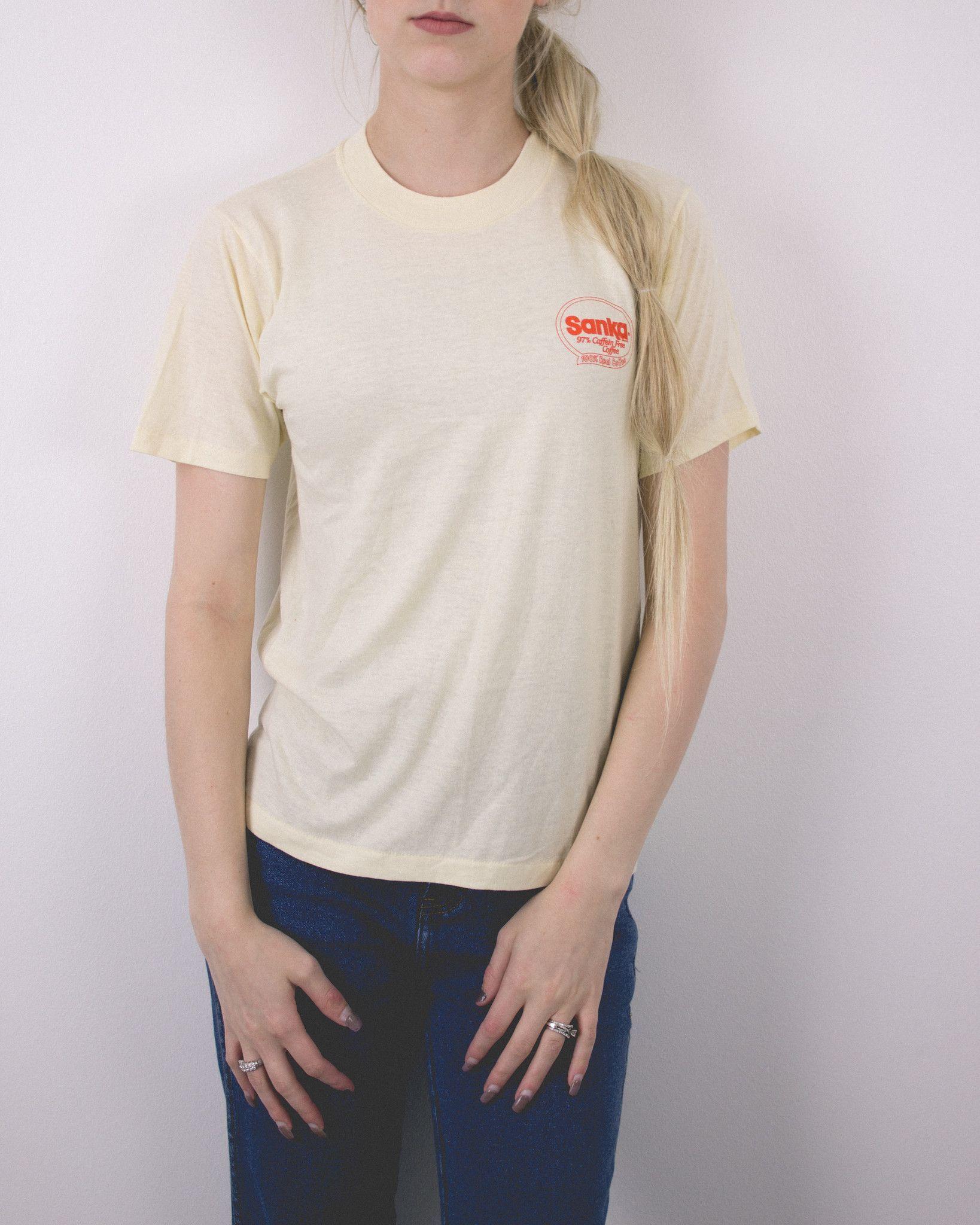 Vintage Sanka Coffee T Shirt