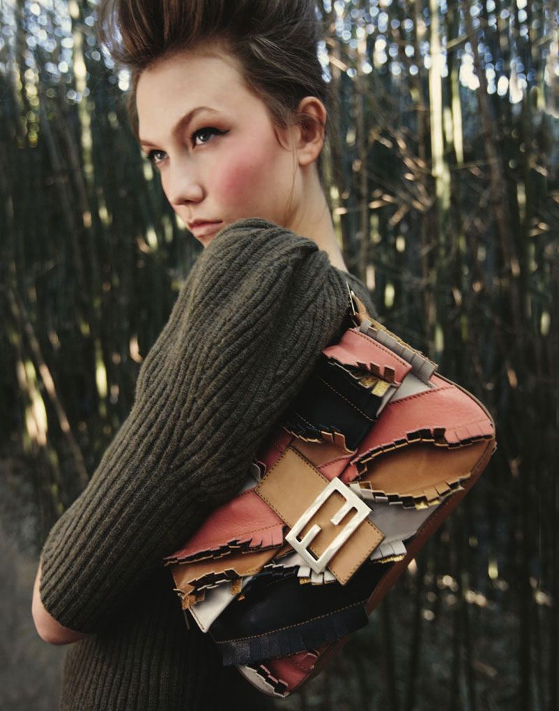 Karlie Kloss by Yelena Yemchuk for Bergdorf Goodman Pre Fall 2010 Catalogue