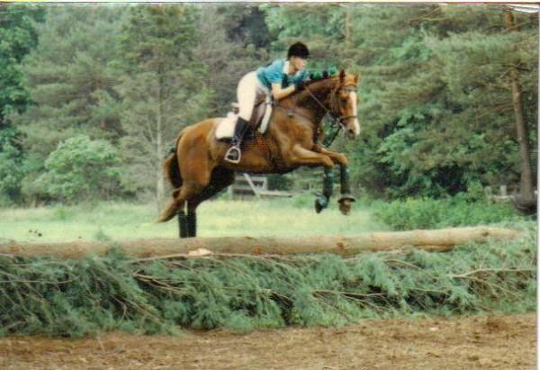 Sheri & Polo 1990 Norfolk Hunt Club Steep Chase