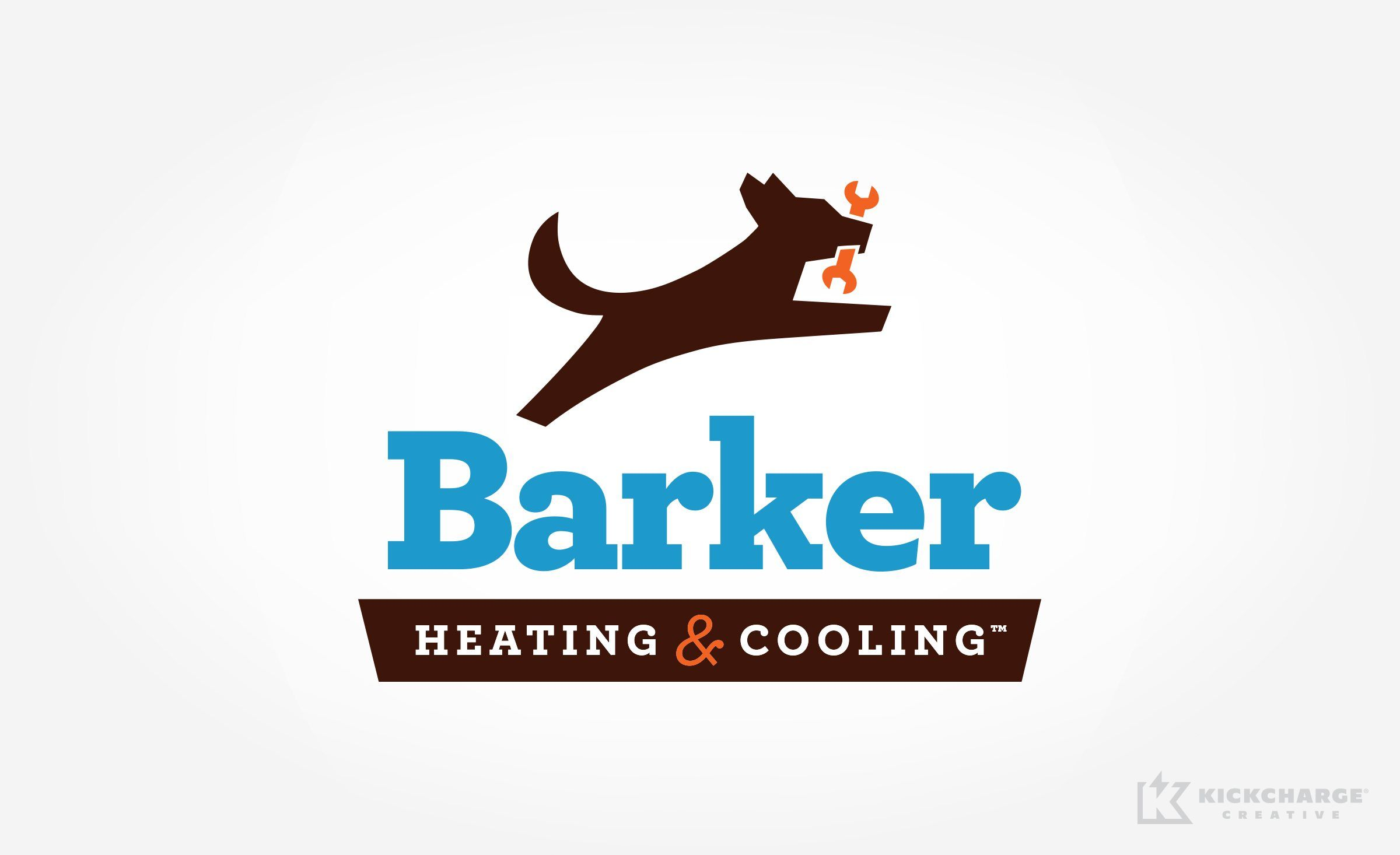 Barker Heating Cooling Kickcharge Creative Small Business