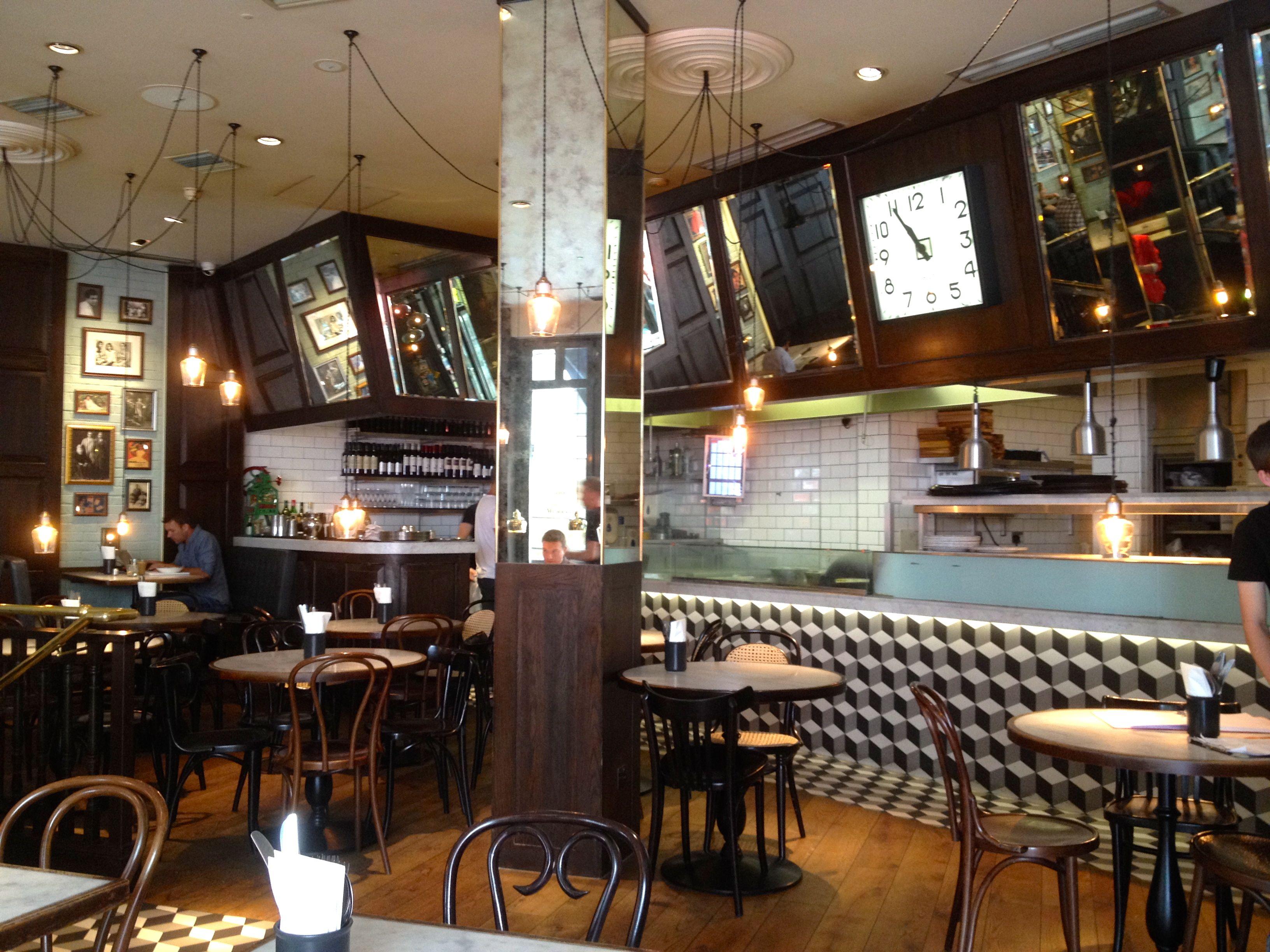 chic shoreditch style restaurant interior - Google Search