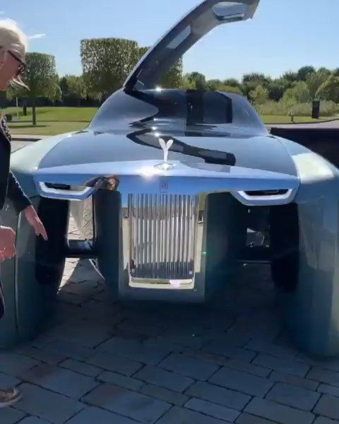 This Is The Rolls-Royce Motor Cars Vision 103EX From The