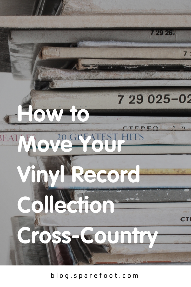 How To Move Your Vinyl Record Collection Cross Country The Sparefoot Blog Vinyl Record Collection Vinyl Records Store Vinyl Records
