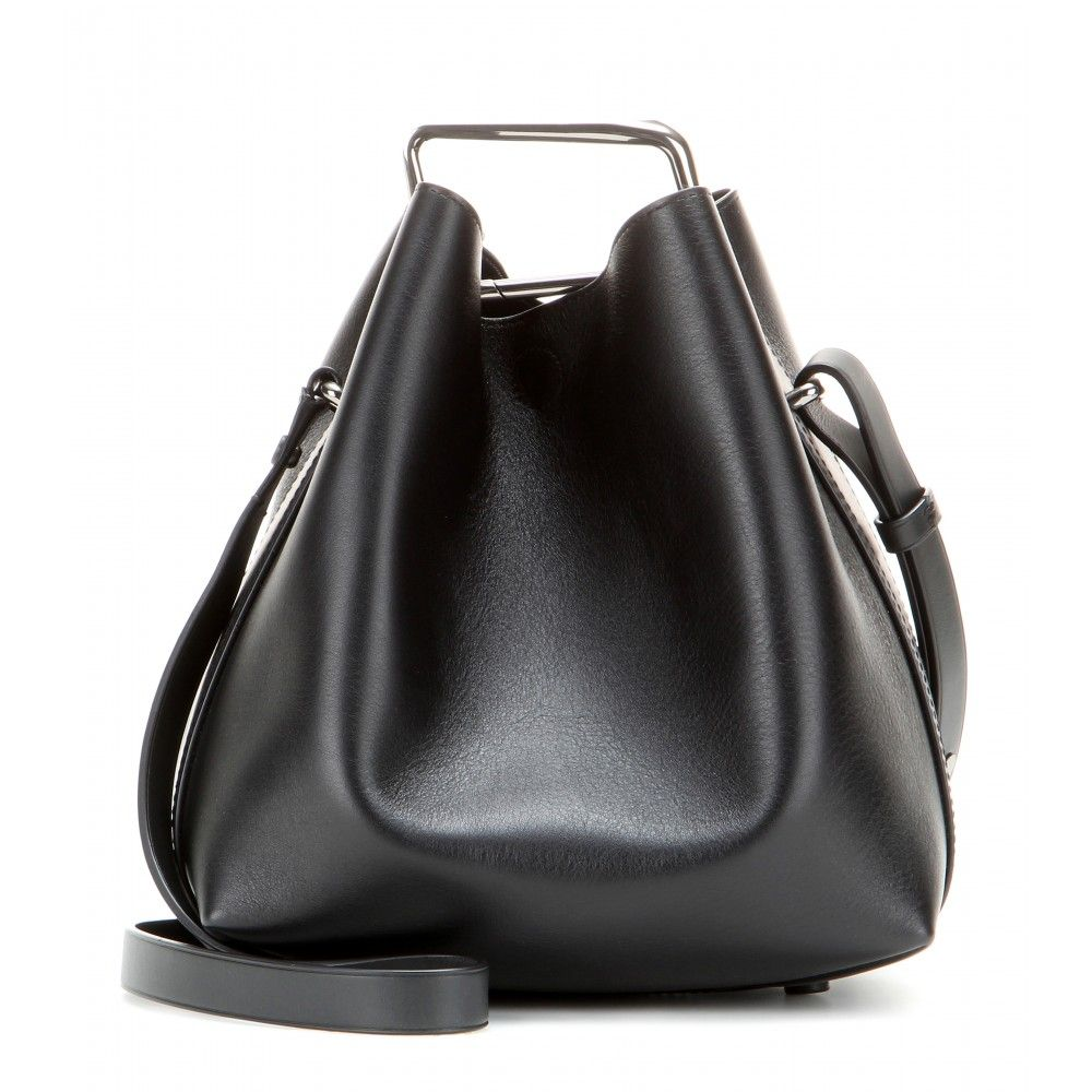 58292d0f8f73 3.1 Phillip Lim - Quill Mini leather bucket bag - This season the ...