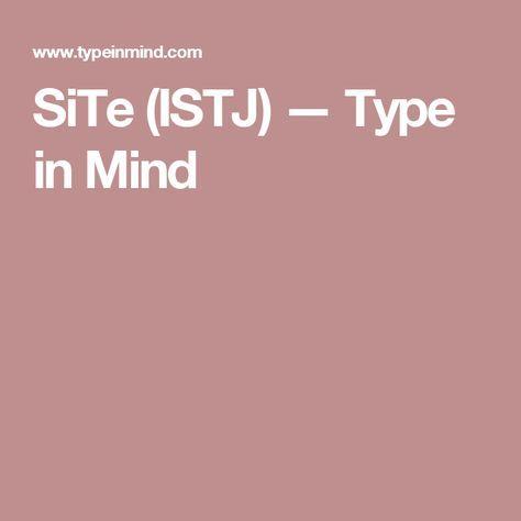 Istj and infj dating websites