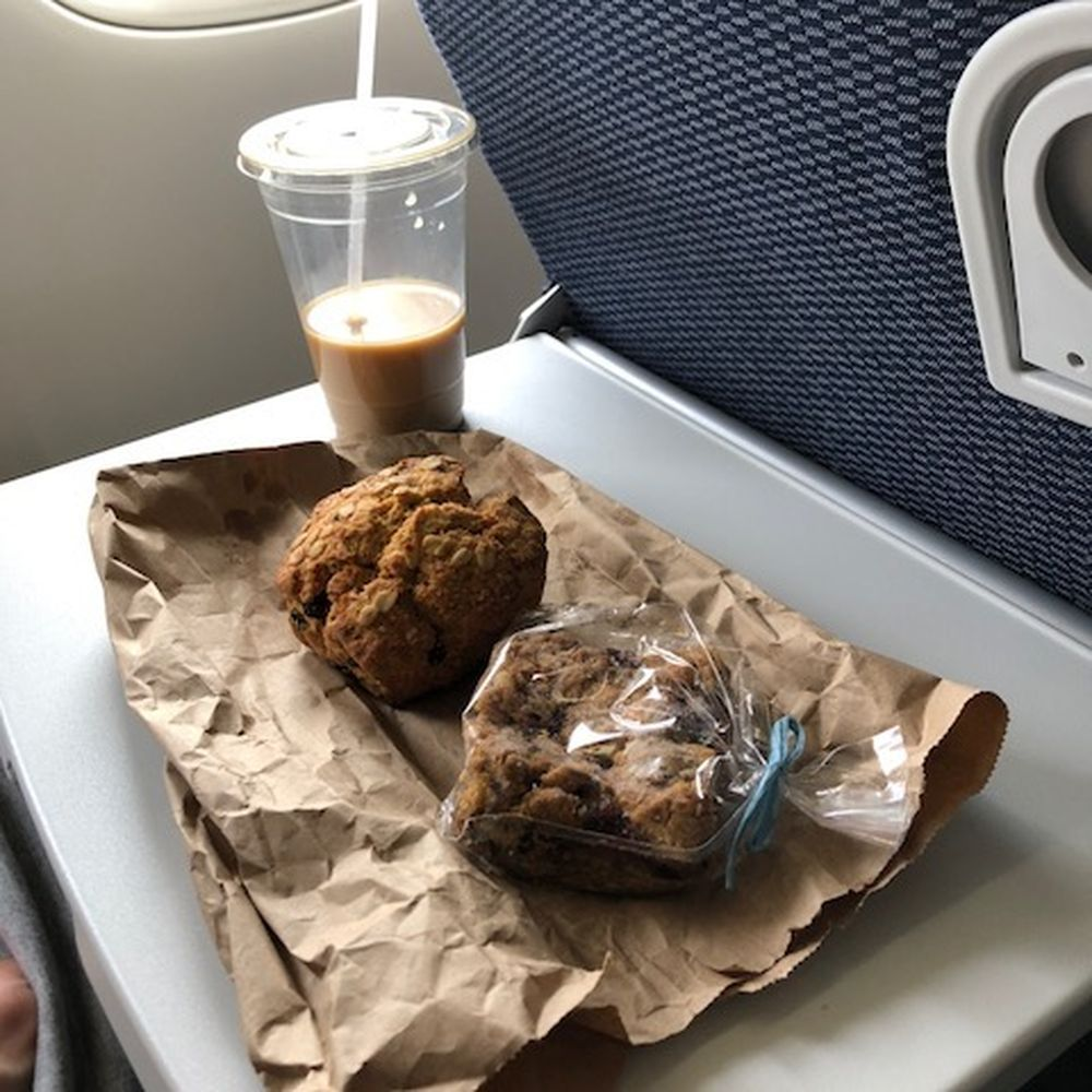 The Best Airplane Snacks To Pack For Long Flights Airplane Snacks Plane Food Airplane Food