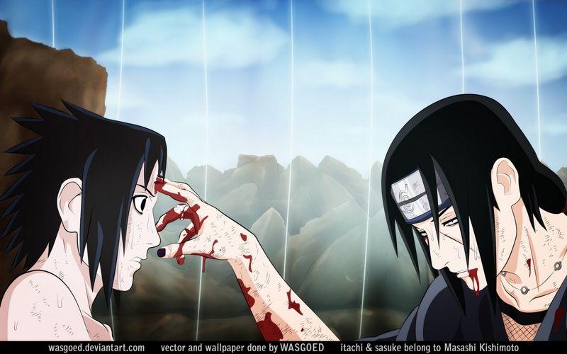 Transfer Of The Powers One Achieves From The Mangekyo Sharingan Sasuke And Itachi Itachi Uchiha Itachi