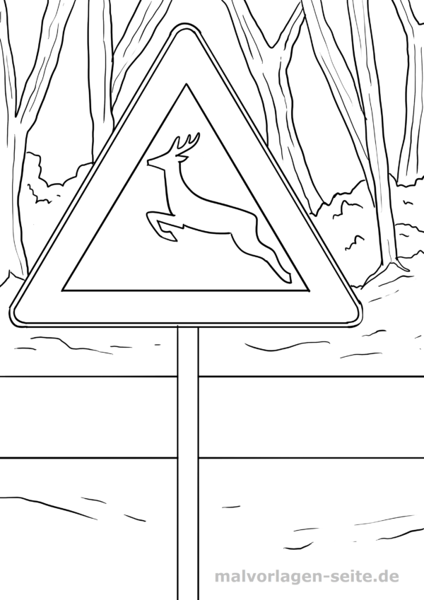 Verkehrszeichen für Kinder zum Ausdrucken ...
