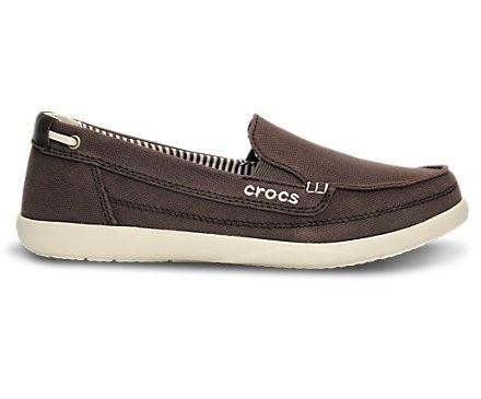 huge selection of e5424 d06d0 zapatos crocs para dama walu canvas expresso