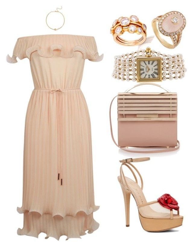 """""""///"""" by lunaashton ❤ liked on Polyvore featuring Eddie Borgo, Boodles, Oasis, Boucheron, Charlotte Olympia, Chanel and Kenneth Jay Lane"""