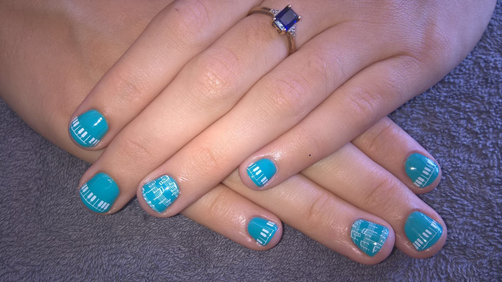 Music nails #individuelle