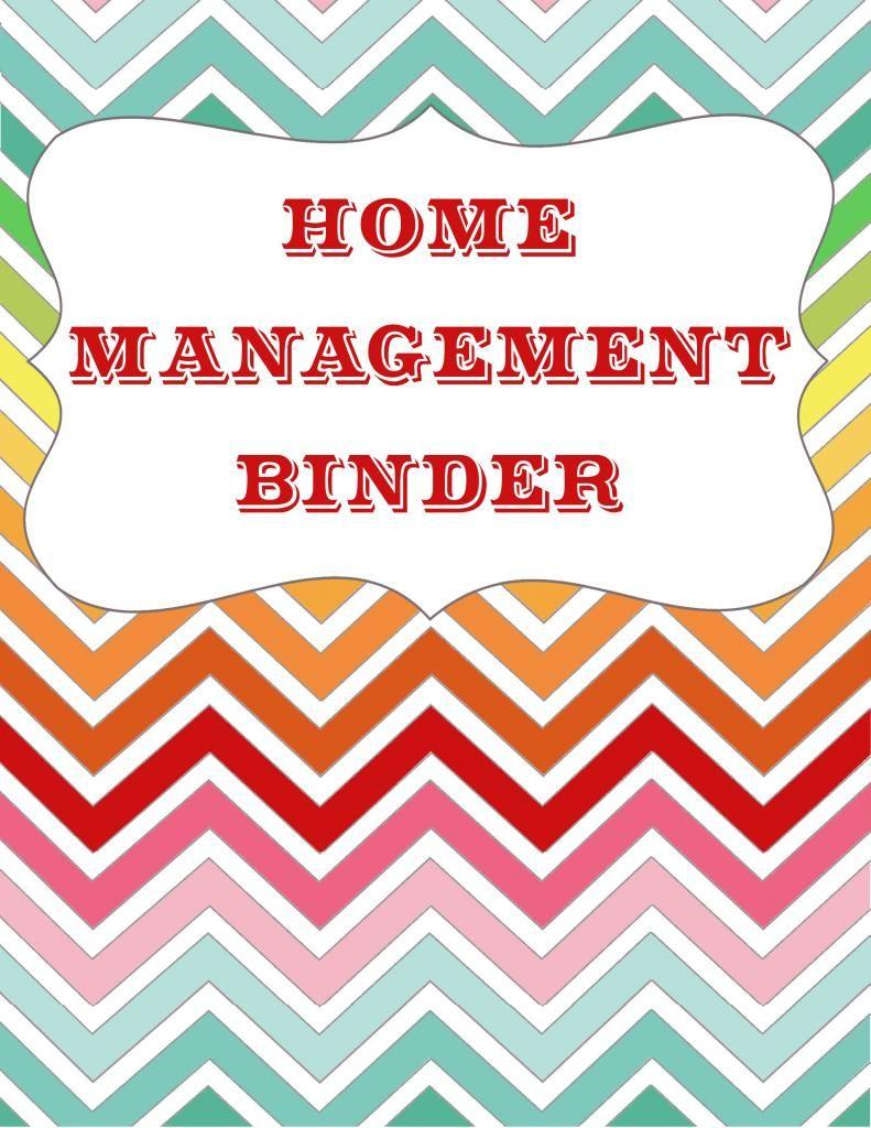 Let S Get Organized Home Management Binder