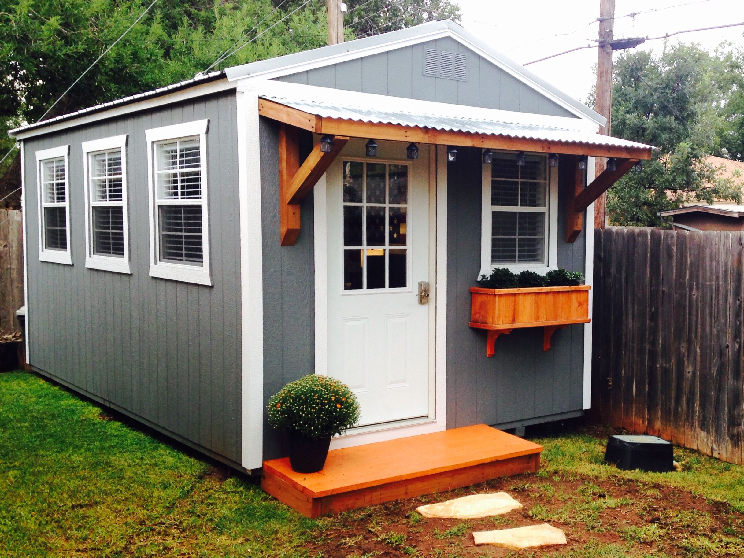 tiny backyard home office. backyard office derksen portable building finished out tiny home