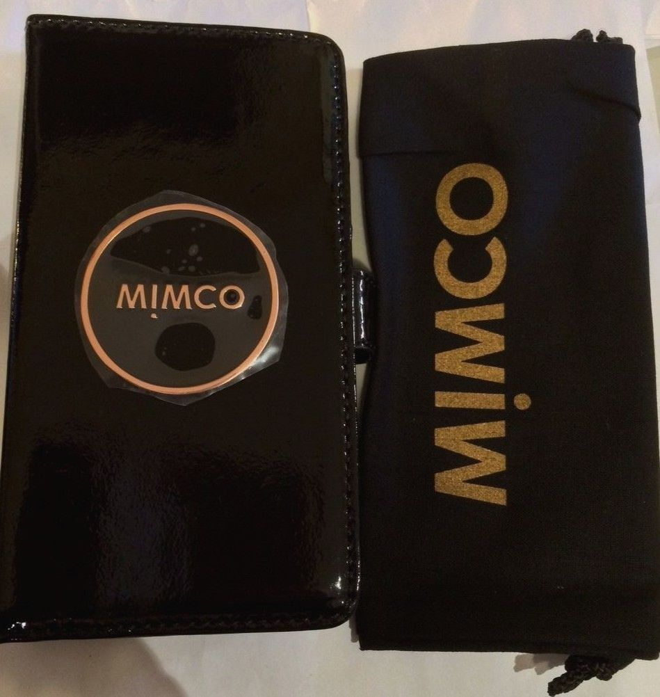 wholesale dealer 9bd52 b6089 MIMCO Black Leather Case for iPhone 7 -Express Post | eBay ...