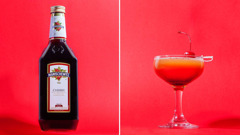 Pour Some Manischewitz On It Punch Wine Cocktail Recipes Wine Cocktails Spring Cocktails