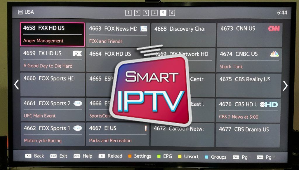 Best IPTV apps for Samsung Smart TV 2017. AxeeTech