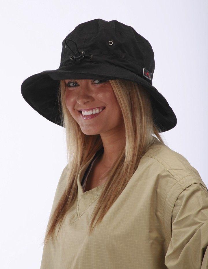 8dd6a5b91de98 Adjustable Rain Hats for Men or Women  TheWeatherCompany  WideBrim