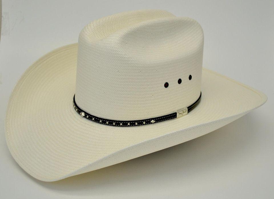 Resistol 8X George Strait Parker Straw Cowboy Hat  9f319530c1e