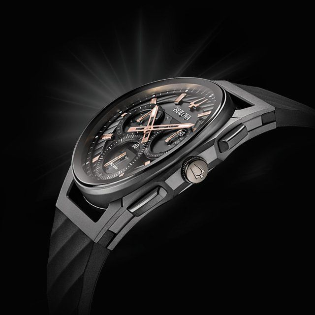 f161373fc The world's first curved chronograph movement is here, just in time for the  holidays.