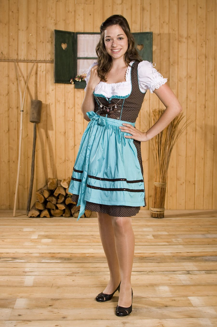 German Girl Traditional Dress