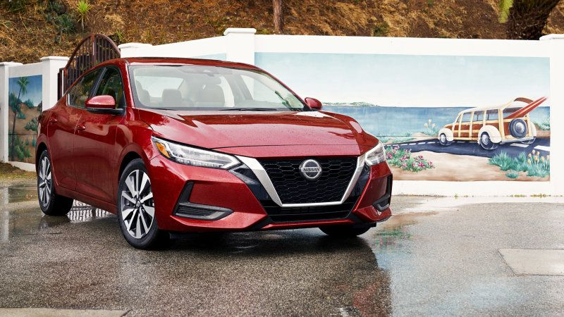 2020 Nissan Sentra First Drive Review Boring No More Nissan Sentra Automotive News Nissan