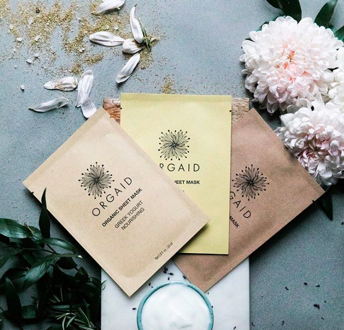 A sheet mask made in the USA with organic ingredients AND
