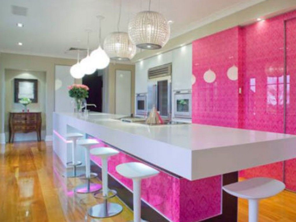 1000 images about Pretty Pink Kitchens on PinterestStove