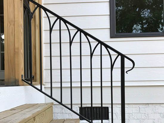 Exterior Residential Iron Railings (With images ...