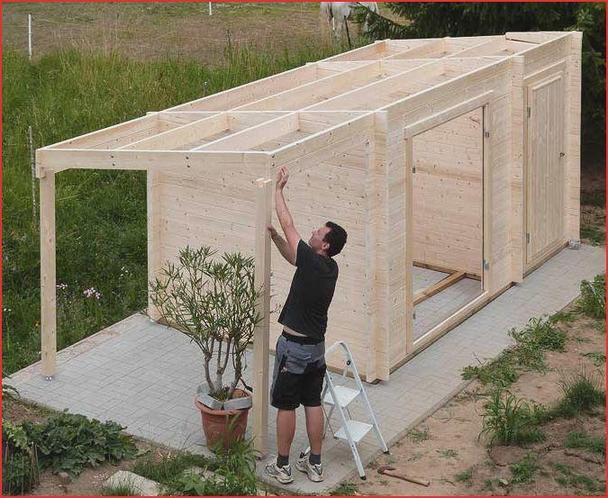 Garten Ideen 30 Frisch Gartenhaus Anbau Selber Bauen O99p Anbau Gartenhaus Gartenhaus Bauen Flachdach Gartenhaus