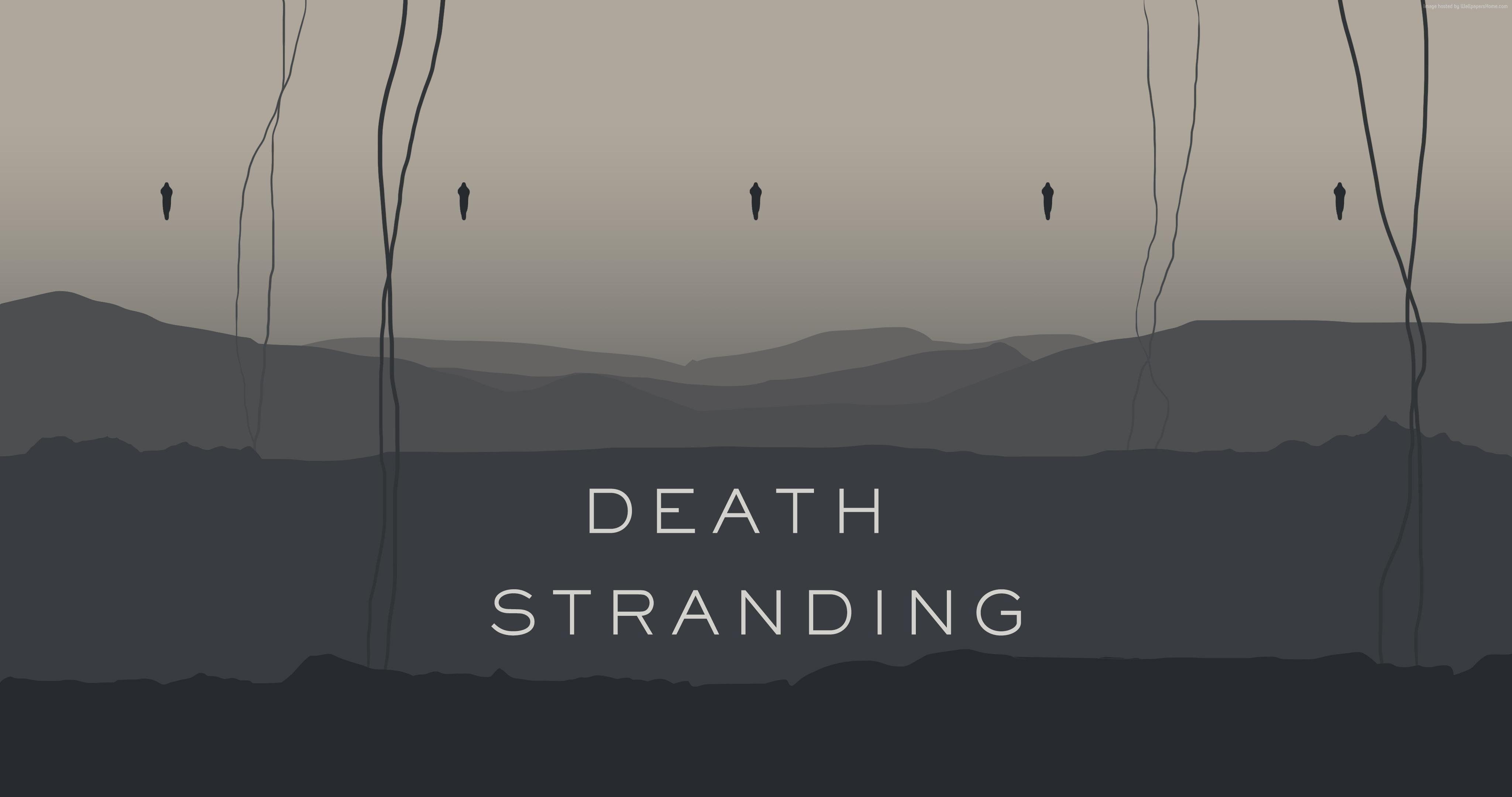 Death Stranding Hideo Kojima Video Games 4k Wallpaper Hdwallpaper Desktop Hd Wallpaper Wallpaper Latest Hd Wallpapers