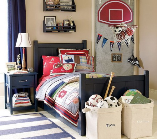 Boys Sports Bedroom. Key Interiors by Shinay  Young Boys Sports Bedroom Themes Kid s