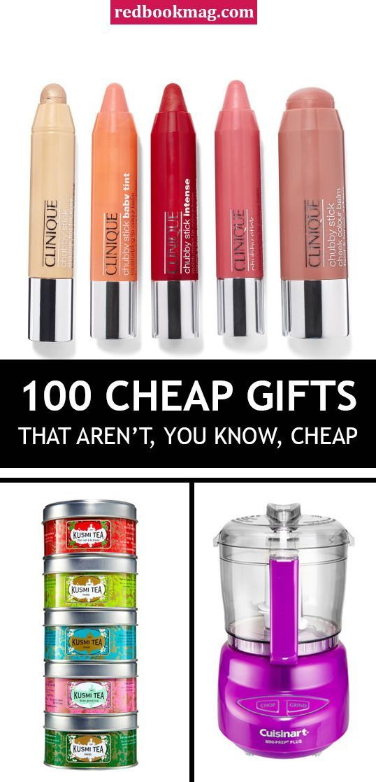 100 Cheap Gifts That Aren't, You Know, Cheap