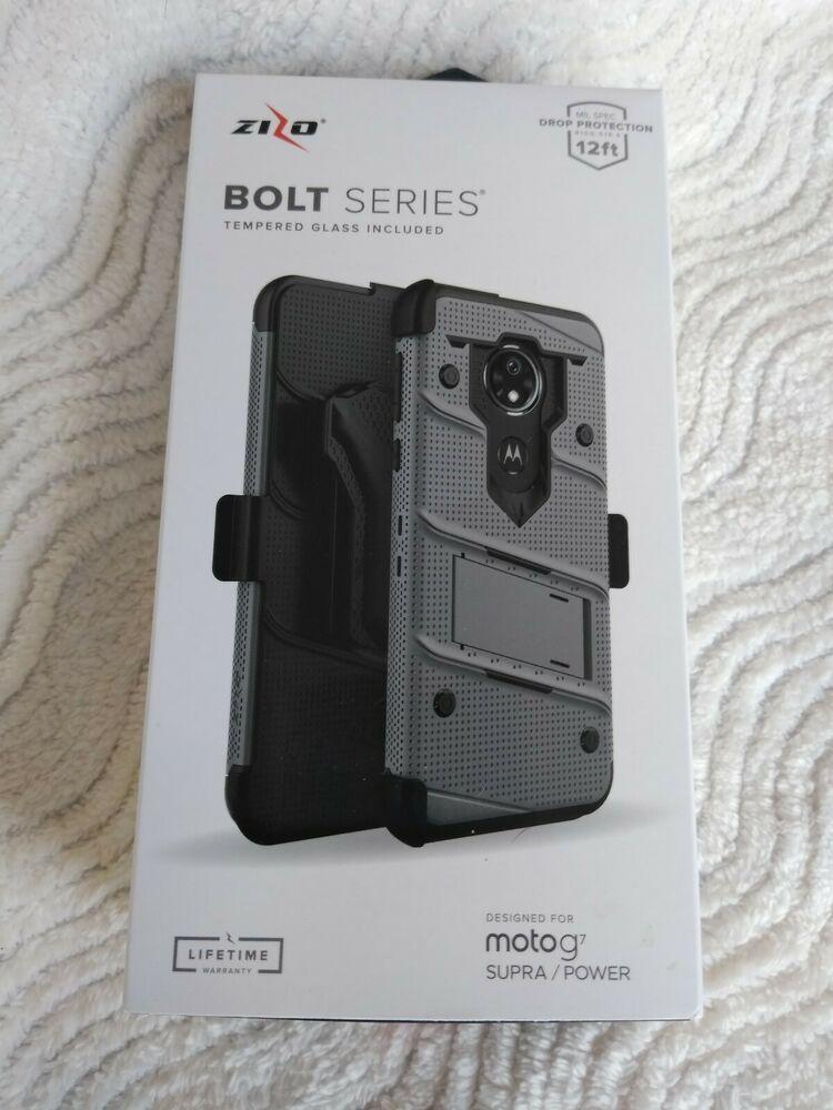 Motorola Moto G7 Supra / Power Zizo Phone Case Tempered
